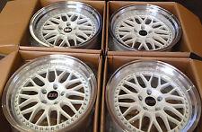 """17"""" ESR SR01 White Wheels For Honda Accord Civic 5x114.3 17X8.5 +30 Rims Set 4"""