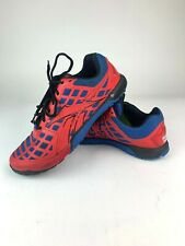 Reebok Crossfit CF7 S55 Mens Shoe Size 8 Red Blue Lace Up Low Trainer