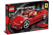 NEW Lego RACERS 8671 Ferrari 430 Spider 1:17 SEALED
