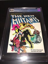 New Mutants Graphic Novel #4 CGC 8.5 $5.95 Canadian Newsstand Price Variant