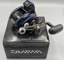 Daiwa Lexa 400 Line Counter Right Hand Casting Fishing Reel / Lexa-Lc400Pwr-P