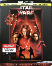 Star Wars: Revenge of the Sith (4K Hd / Blu Ray / Digital ) New / Sealed + Slip