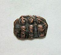 AE  FOLLIS. HERACLIUS, 610-641 AD. CYPRUS MINT. HERACLIUS, MARTINA, CONSTANTINE