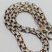 """Sterling silver solid 925 bracelet chain bangle Az960 7"""" unique style unisex"""