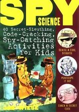 Spy Science 40 Activities for Kids paperback book by Jim Wiese FREE SHIPPING