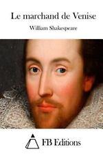 Le Marchand de Venise by William Shakespeare (2015, Paperback)