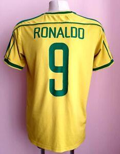 Brazil 1998 - 2000 Home football shirt #9 Ronaldo