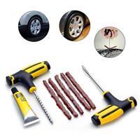 Auto Fahrrad Reifen Reparieren Stecker Bausatz Raspel Nadel Patch Fix-Werkz O0R7