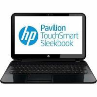 "HP Pavilion 15-B109WM Sleekbook 15.6"" Laptop AMD A6-4455M 500GB HD 6GB RAM Win 8"