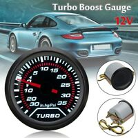 52mm 2″ White LED Digital Car Auto Turbo Boost  Pressure Gauge Smoked Dial Psi !