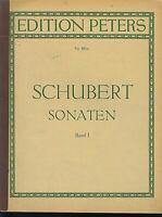 SCHUBERT ~ Sonaten Band 1