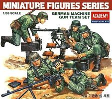 1/35 WWII German Machine Gun Team Academy Model model kit 1379