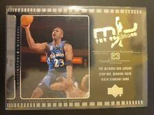 2002 - 03 upper deck #J2 Michael Jordan The Comeback Washington Wizards Card