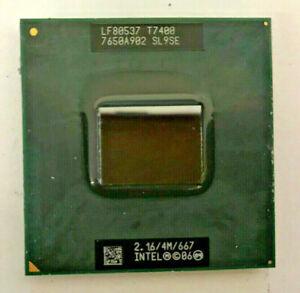 INTEL Core 2 Duo T7400 SL9SE MOBILE - 2,16GHz/4M/ 667 - Dual Core- Sockel M #799