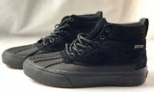 Vans Sk8-Hi Del Pato MTE Black/Black Shoes Men's 5, Women's 6.5 VN000313DW8