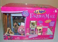 Lil Bratz NEW 2003 FASHION 5 IN 1 SHOPPING MALL PLAYSET w NEVRA Doll & ESCALATOR