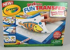 CRAYOLA DRY ERASE FUN TRANSFER BRAND NEW SEALED IN BOX!