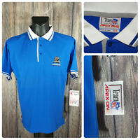 VINTAGE VTG | Rare | NFL Detroit Lions S/S Polo Shirt | Sz Medium | Original Tag