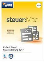 WISO steuer:Mac 2018 (für Steuerjahr 2017) von Buhl ... | Software | Zustand gut