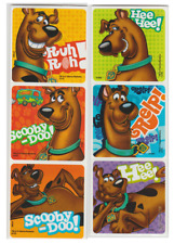 """25 Scooby Doo Faces Stickers, 2.5"""" x 2.5"""" each, Party Favors"""