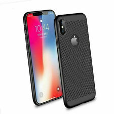 Ultra-Thin Breathable, ShockProof PC Hard Case For Apple iPhone XS Max- Black
