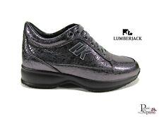 Zapatos de Mujer Lumberjack Raul Zapatillas Piel Invierno Casual Cuña Interior