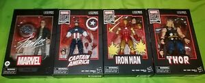 Marvel legends lot 80 years stan lee captain America iron man thor