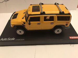 Kyosho Mini Z Hummer 4x4 Body Shell, Yellow. Tamiya, XMods