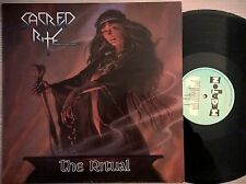 DISCO LP SACRED RITE - THE RITUAL - 1985 MEGATON 0014  HOL - EX+/EX  HEAVY METAL