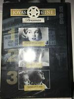 DVD HISTORIAS DE UNA CIUDAD + BAJO LA LLUVIA + SINFONIA DE LA VIDA MARYLIN MONRO