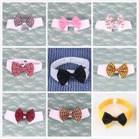 Fashion Adorable Dog Cat Pet Puppy Kitten Toy Bow Tie Necktie Collar Clothes Hot