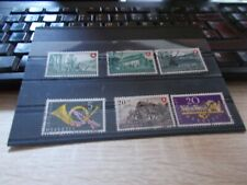 6  TIMBRES SUISSES OBLITERES