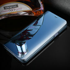 For Samsung Galaxy S10+ Note 9 8 Luxury Touch Mirror Smart Flip Case Stand Cover