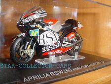 APRILIA RSW250 RSW 250 1/24 MARCO MELANDRI 2002 #3 MINT
