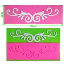Fancy flourish/parchemin dentelle gaufrage tapis/moule par fairie bénédictions