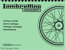 Lambretta Innocenti Lambrettino Moped Parts Book
