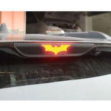 3Pcs DIY 3D Batman Carbon Fiber Sticker Brake Tail Light Decal Car Accessories