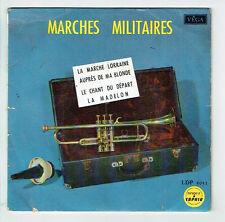 """MARCHES MILITAIRES Vinyle 45T 7"""" EP AUPRES DE MA BLONDE -LA MADELON -SAPHIR 5051"""