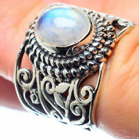 Rainbow Moonstone 925 Sterling Silver Ring Size 6 Ana Co Jewelry R26478F