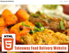 Restaurant website build with online ordering - indian,Chinese any food..