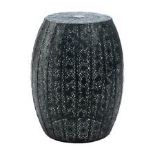 Black Moroccan Decorative Stool, FREE SHIPPING