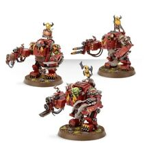 Meganobz x3 - Ork - unboxed Prophecy of the Wolf - 40k