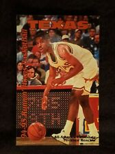 1994-95 University of Texas Longhorns Basketball Schedule