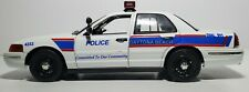 Motor Max 1:18 Crown Victoria Interceptor CUSTOM DAYTONA POLICE CAR