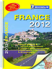 (Good)-France 2012 - Michelin atlas A3 spiral (Michelin Tourist and Motoring Atl