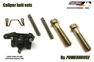 Suzuki GSX 750 F inc Katana Stainless joint bolt & pin set rear brake caliper