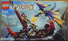 LEGO VIKINGS 7016 Viking Boat vs Wyvern Dragon * Good Condition, Used *