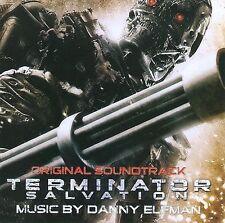 Terminator Salvation CD Soundtrack Danny Elfman Sealed!