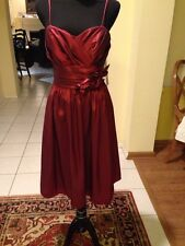 Watters Wtoo Sz  8,12 Burgandy Dress(2 Available Of Each Size)Orig $200.00 Each