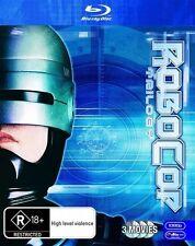 Robocop / Robocop 2 / Robocop 3 (Blu-ray, 2010, 3-Disc Set)